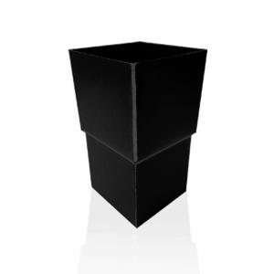 Mufa kwadratowa (złączka do rur) - Anthra Patyna Tytan Cynk