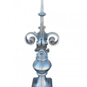 Szpica dachowa - Tytan Cynk Natural - wysokość 1,2 m