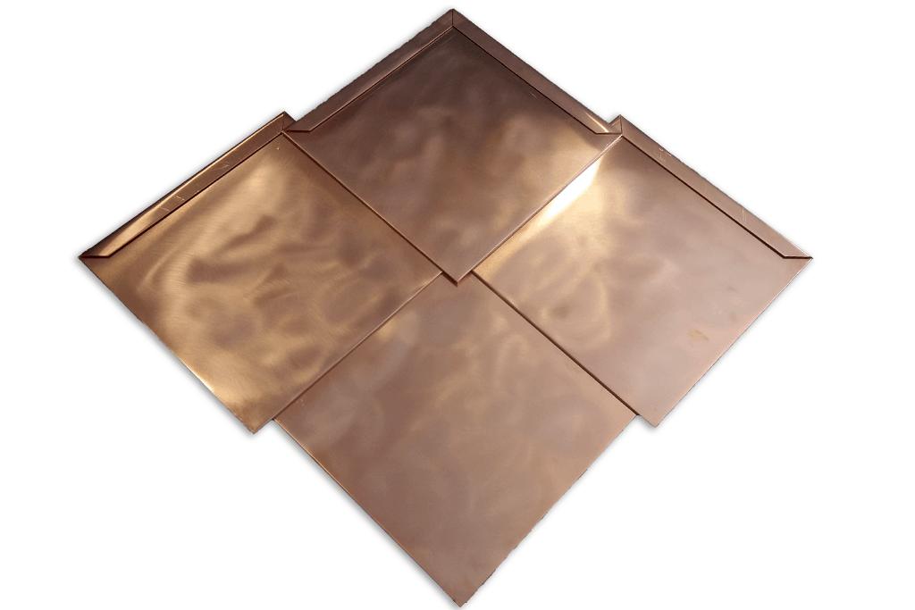 Panele dachowe – Płytki Karo