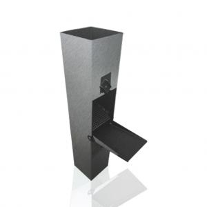 Chwytacz wody (Łapacz wody) - Rozmiar 100 - Tytan Cynk Vm Zinc Quartz