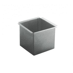 Wylewka kwadratowa / lej spustowy - Quartz Tytan Cynk