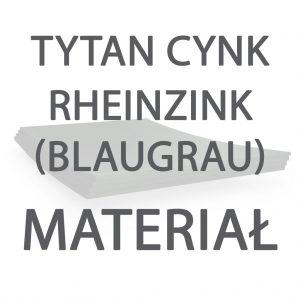 Tytan Cynk Rheinzink (Blaugrau)