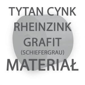 Tytan Cynk Rheinzink Grafit (Schiefergrau)