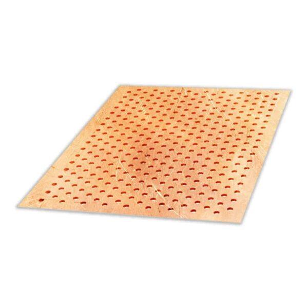 Arkusz blachy perforowanej – Miedź – Grubość 0,7 mm