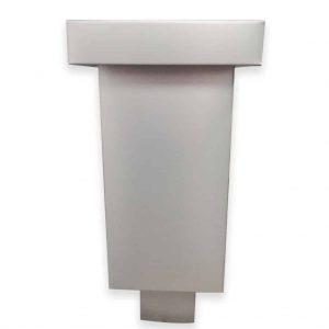 Specjalny kosz zlewowy - Aluminium - Wysokość 40 cm