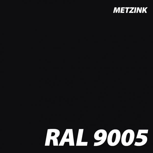 RAL 9005 metzink