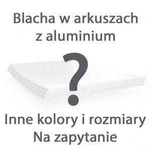 Arkusz blachy aluminiowej - Inne kolory i rozmiary - Dostępne na zapytanie