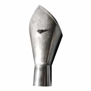Specjalny kosz zlewowy - Tytan Cynk Natural - Wysokość 400 mm