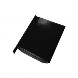 Denko kwadratowe płaskie Patyna Black Tytan Cynk – 85, 100, 120, 150