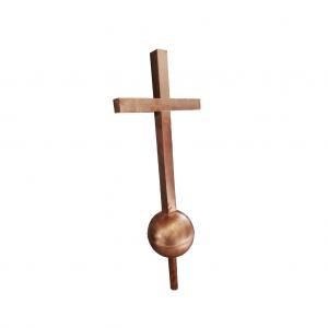 Szpica dachowa - Krzyż - Miedź - wysokość 1400 mm